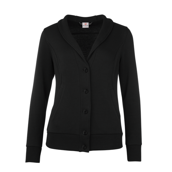 490160-BUSINESS&CASUAL Cardigan, Damen-black