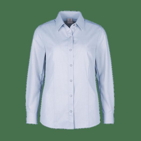 480362-CONCEPT Bluse 1/1-hellblau/weiß gestreift
