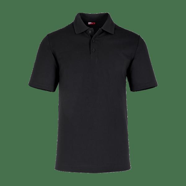 40895-CORE Polo Industry 1/2, Herren-schwarz