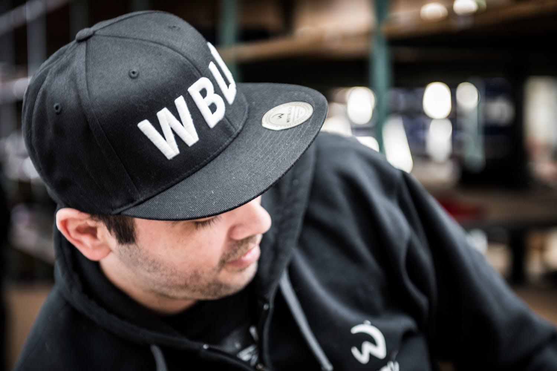 CORE FLEXFIT CAP WBLK