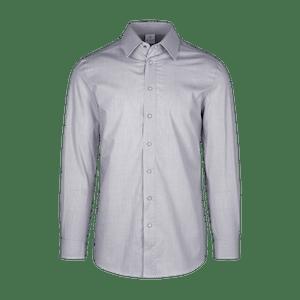 910164-CONCEPT Hemd 1/1, Herren-schwarz/weiß gestreift