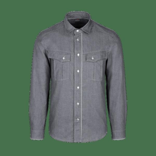 910990-DENIM CRAFT Hemd 1/1, Herren-denim black