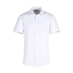 921520-BUSINESS&CASUAL Hemd 1/2, Herren-weiß