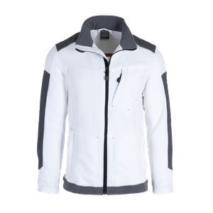 19389-MYCORE FORCE Fleecejacke-white/stone