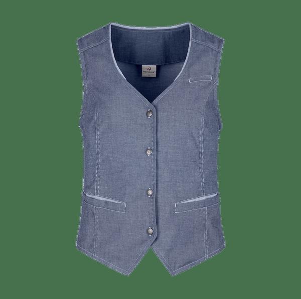 140891-DENIM CRAFT Weste, Damen-denim blue