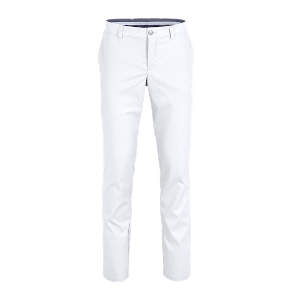 22904-BUSINESS&CASUAL Chino, Herren-white