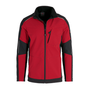 19365-MYCORE FORCE Softshelljacke-chili/black