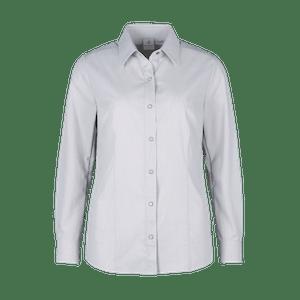 480360-CONCEPT Bluse 1/1-hellgrau/weiß gestreift