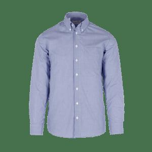 910080-BUSINESS&CASUAL Hemd 1/1-dunkelblau Vichy karo