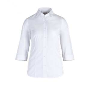 481280-BUSINESS&CASUAL Bluse 3/4-weiß