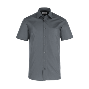 921660-BUSINESS&CASUAL Hemd 1/2-anthrazit