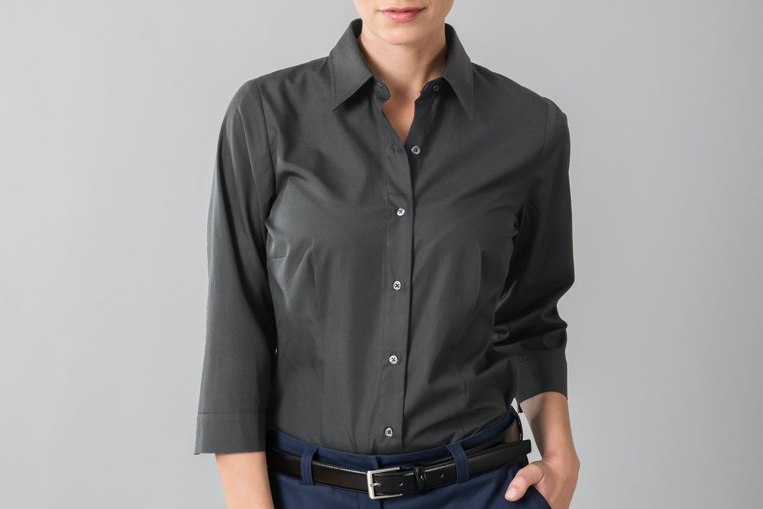 BUSINESS&CASUAL Bluse 3/4