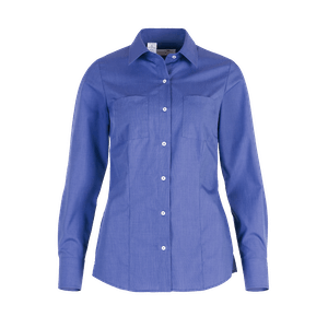 481140-BUSINESS&CASUAL Bluse 1/1-mittelblau