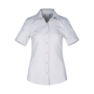 480260-CONCEPT Bluse 1/2, Damen-hellgrau/weiß gestreift