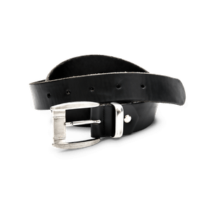 90255-CORE Echtledergürtel-schwarz