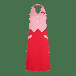 89027-CONCEPT Westenrock-rot/rot-weiß karo