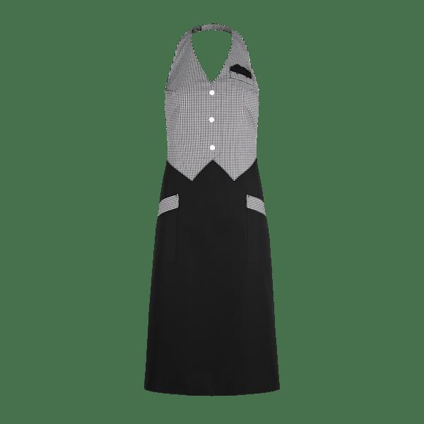 89286-CONCEPT Westenrock-schwarz/schwarz-weiß vichy karo