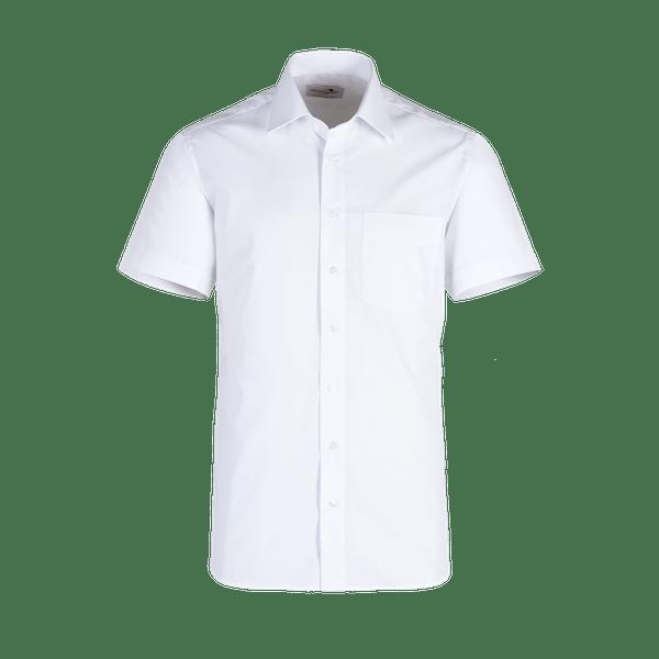 921620-BUSINESS&CASUAL Hemd 1/2-weiß