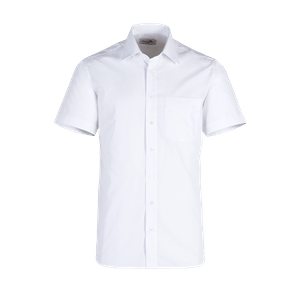 919210-BUSINESS&CASUAL Hemd 1/2-weiß