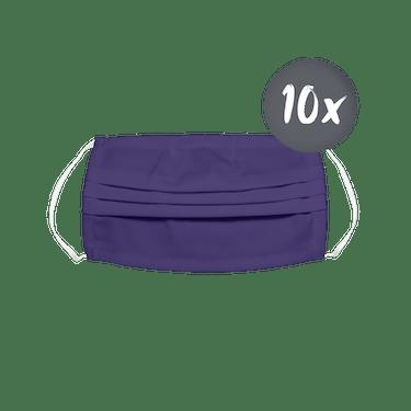 CONCEPT Hygienemaske waschbar dunkelviolett