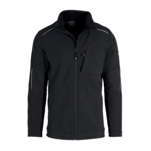 19364-MYCORE FORCE Softshelljacke-black/black