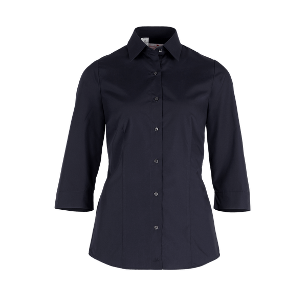 482530-BUSINESS&CASUAL Bluse 3/4-schwarz