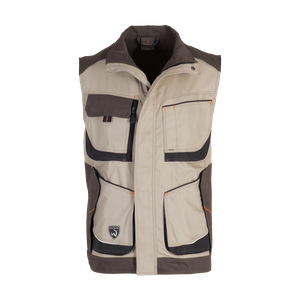 14860-MYCORE FORCE Weste Air-desert/brown