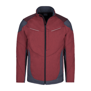 190640-HERO FLEX Softshelljacke-neo red/grey